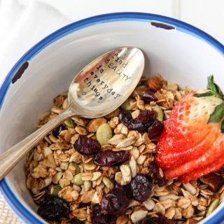 Basic Granola with Cinnamon & Honey