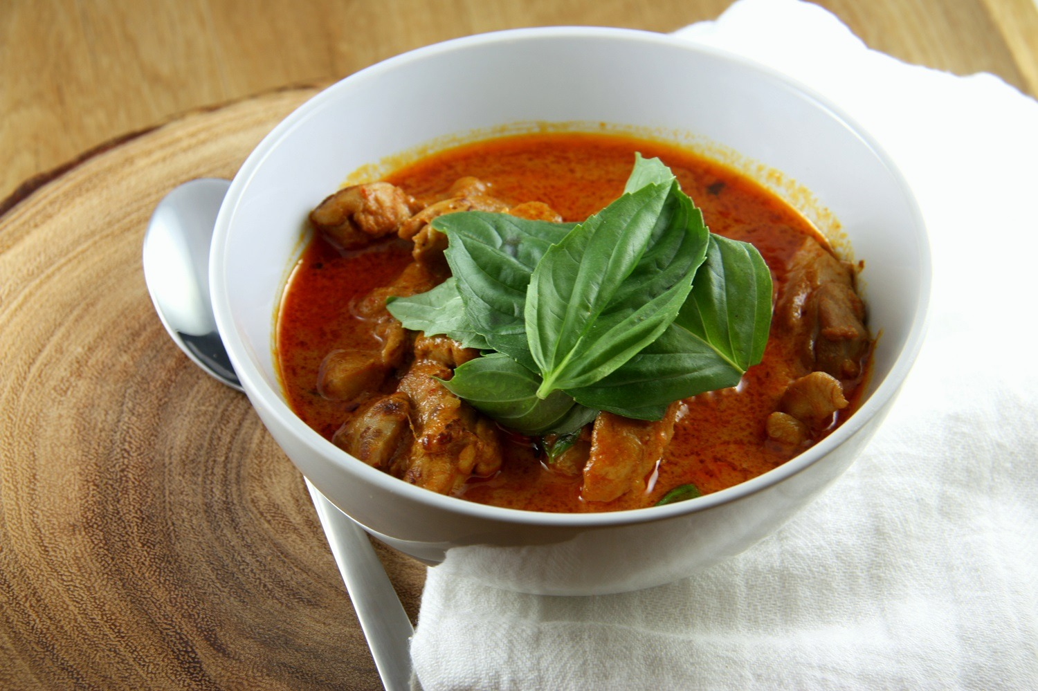 Tantalising Thai Red Curry with Chicken