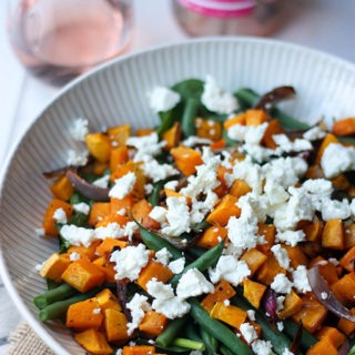 Pumpkin, Feta & Green Bean Salad