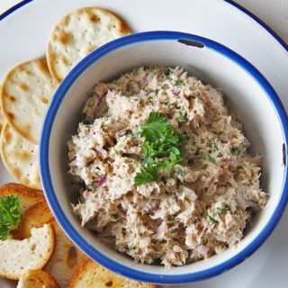 Five Minute Salmon Dip