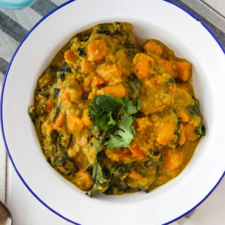Sweet Potato, Lentil & Kale Curry