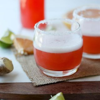 Grapefruit Lime Margaritas