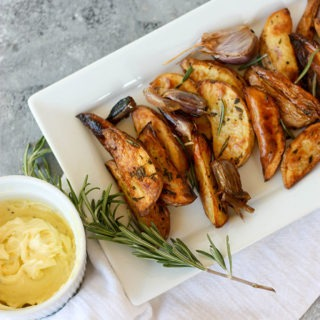 Oven Baked Yukon Gold Rosemary Fries