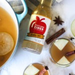 Hot Spiced Apple Cider www.thehomecookskitchen.com