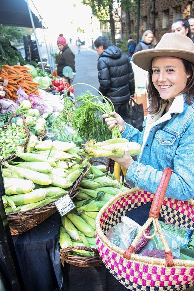Panzanella Salad and farmers market finds www.thehomecookskitchen.com