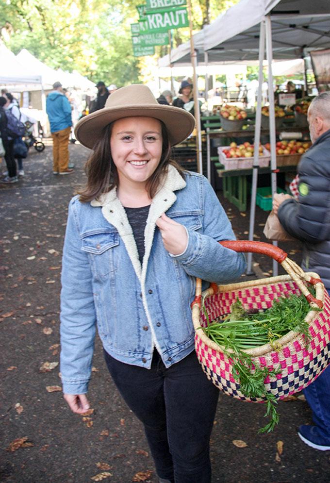 Panzanella Salad + farmers market finds www.thehomecookskitchen.com