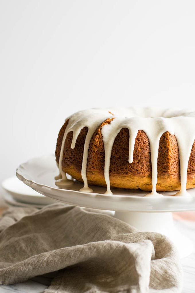 20 fall recipes for a dinner party Pumpkin-Spice-Bundt-Cake-with-Browned-Butter-Maple-Glaze-2-1
