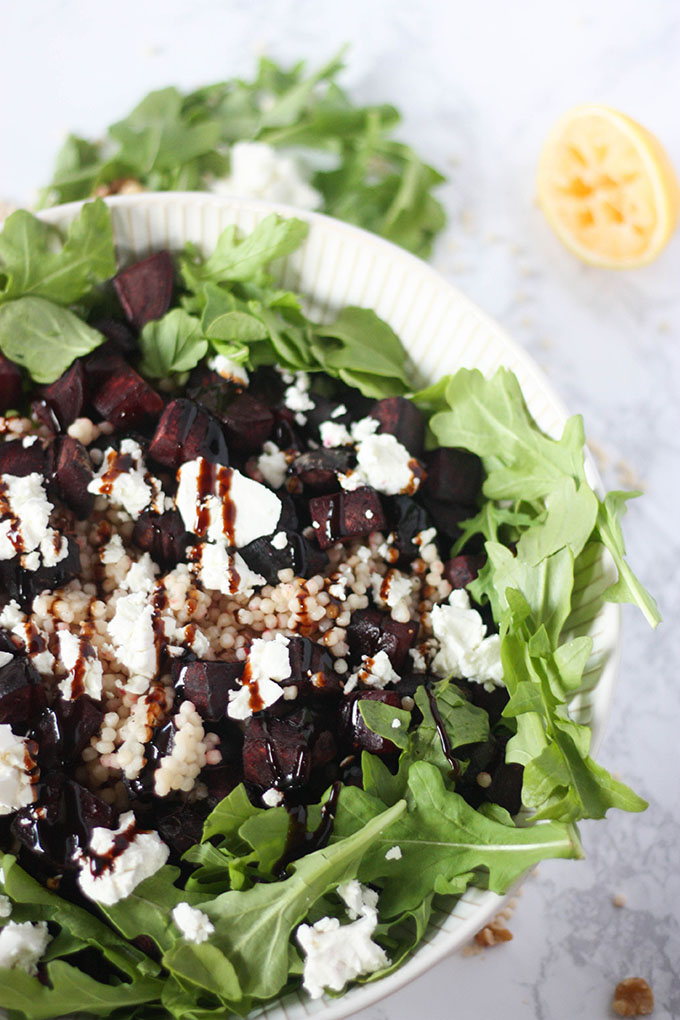 www.thehomecookskitchen.com beetroot goat cheese salad a healthy heart winter salad