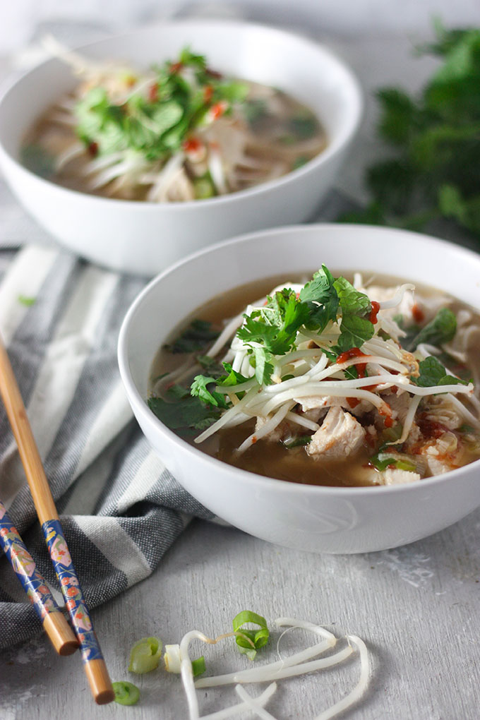 Quick n' Easy Chicken Pho | The Home Cook's Kitchen