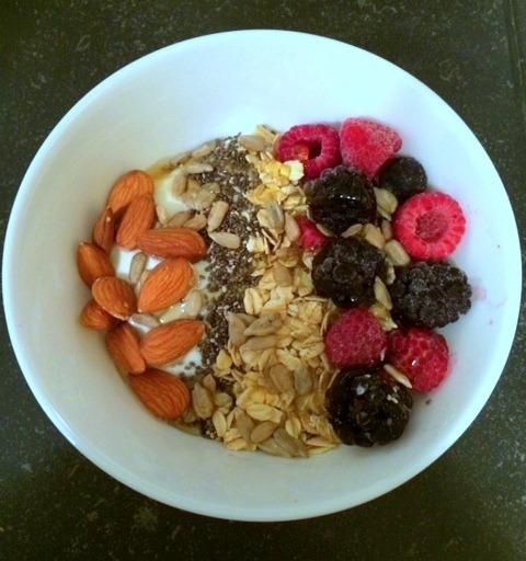 easy breakfast parfait