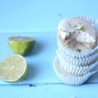Raw Lime Coconut Cheesecake www.thehomecookskitchen.com
