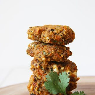 Sweet Potato Quinoa Burgers