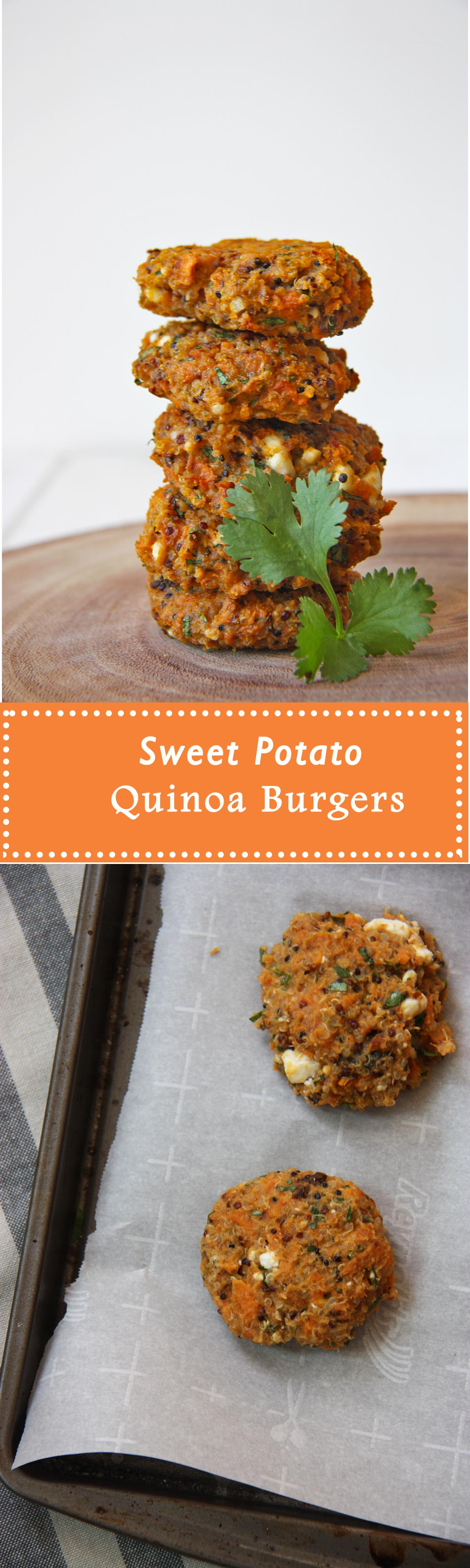 sweet potato quinoa burgers www.thehomecookskitchen.com vegetarian, easy to make and totally delicious! jazz up your burgers with these babies!
