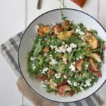 Spicy North African Potato Salad www.thehomecookskitchen.com fresh, light, flavousome and oh so easy! jazz up your regular old potato salad with a bit of spice!