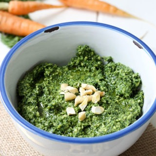 Carrot Top Pesto