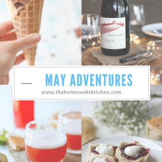 May Adventures www.thehomecookskitchen.com