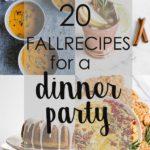 fall recipe ideas collage