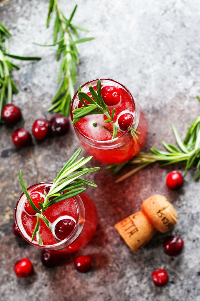 20 fall recipes for a dinner party cranberry-ginger-bellini-14