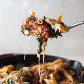 Italian Sausage and Kale Pasta Bake