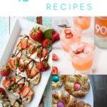 easter brunch recipes collage