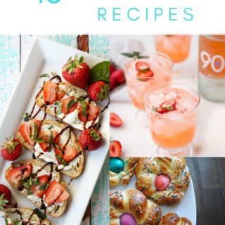 easter brunch recipes collage