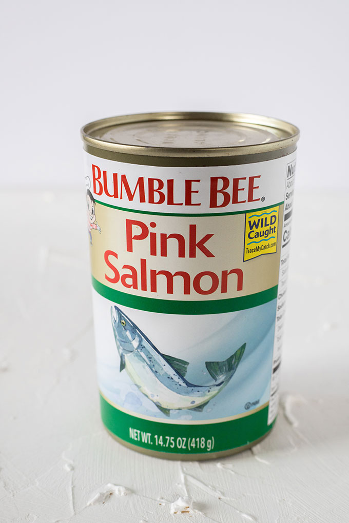 tin of bumblebee pink salmon