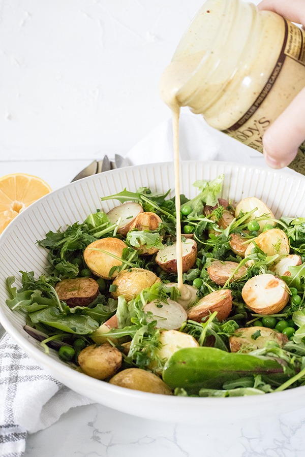 Honey Dill Potato Salad Recipe