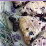 blackberry scones pinterest graphic
