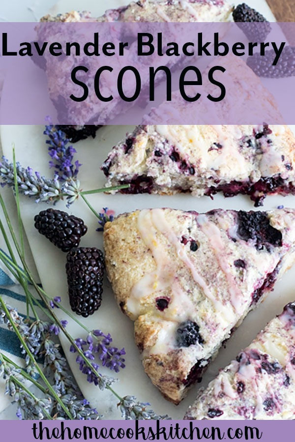 Light and subtle, crispy on the outside and soft in the middle lavender blackberry scones with lemon glaze! These blackberry scones are perfect for afternoon tea, bridal parties, baby showers or everyday snack! The flavour combination meshes beautifully together, to bring you a balanced little treat!#scones #blackberryscones #lavender #blackberrylavender #afternoontea #baking AD @orberries