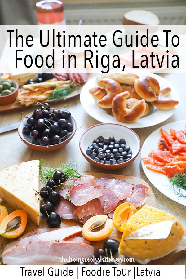 Everything you need to know about where to get the best food in Riga, Latvia. Whether you're on a budget or not, there's a place for everyone! And while you're at it, find out how to make a beautiful and cheap, Latvian style charcuterie board for 8! #riga #latvia #foodinriga #travelguidetoriga #foodguidetoriga #charcuterie #latviancharcuterie #charcuterieboard #cheeseandmeatboard