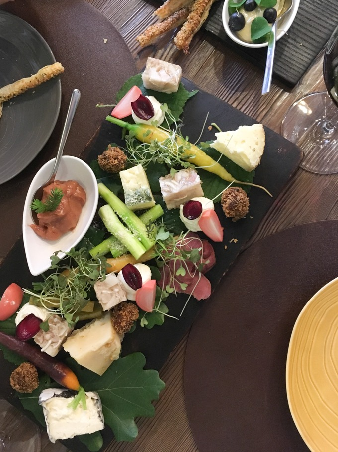 the forest platter from ristorant number 3