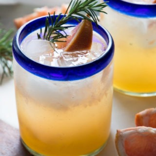 Rosemary Grapefruit Gin Cocktail