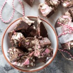 rocky road in a small bowl