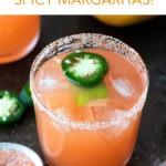spicy margarita pin